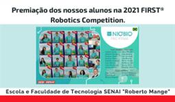 Premiação da Equipe Nióbio 2020-2021